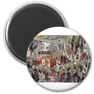 Paintz1 Refrigerator Magnet