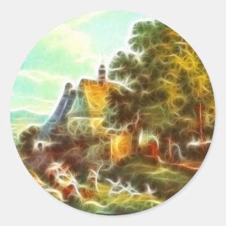 Paintz3 Classic Round Sticker