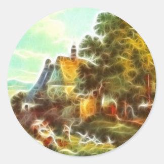 Paintz3 Round Sticker