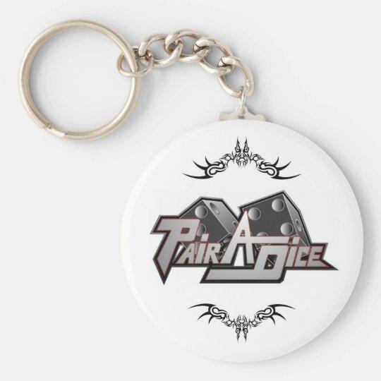 Pair A Dice Keychain tattoo