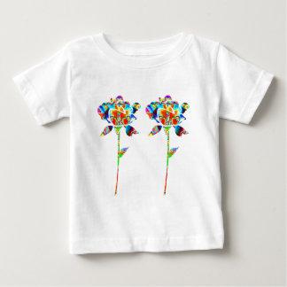 Pair Beautiful FLOWERS Baby T-Shirt