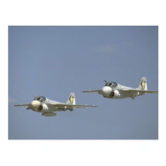 Pair Of A-6 Intruders Postcard