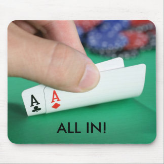 Pair of Aces Mouse Pad