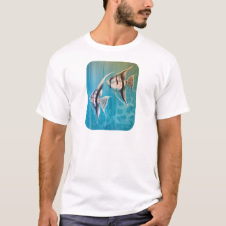 Pair of angel fish oil painting number 1 T-Shirt