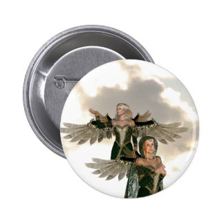 Pair of Angels  Button