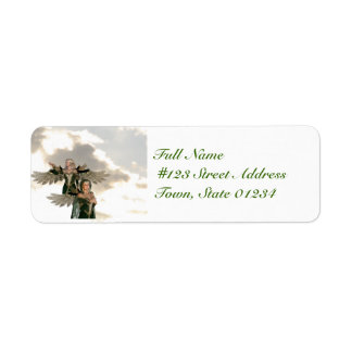 Pair of Angels  Mailing Labels
