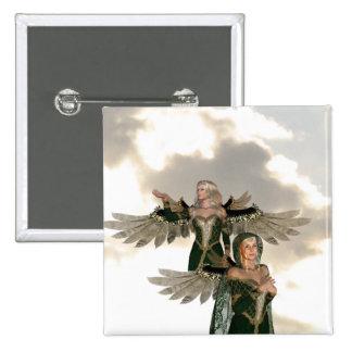Pair of Angels  Pin