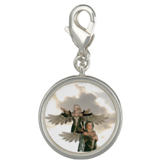 Pair of Angels Charm