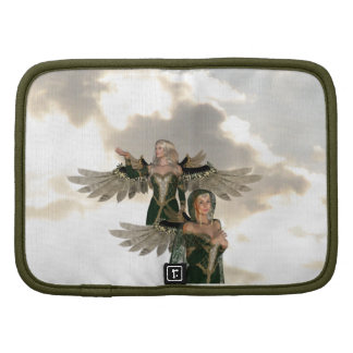 Pair of Angels  Wallet Folio Organizers