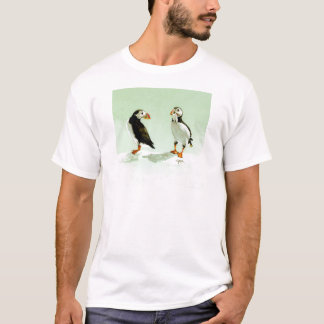 Pair of Antartic Puffin Birds T-Shirt