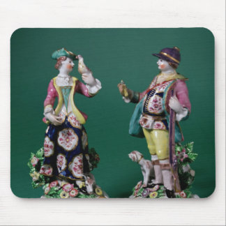 Pair of Bow figures of a Sportsman Mouse Pad