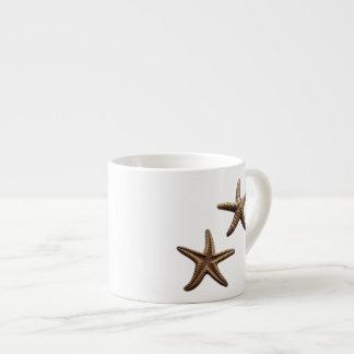 Pair of Brass Starfish Espresso Cup