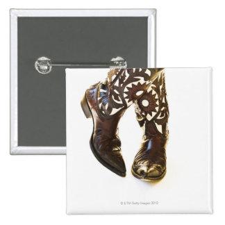 Pair of cowboy shoes 2 button
