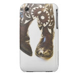 Pair of cowboy shoes 2 Case-Mate iPhone 3 cases