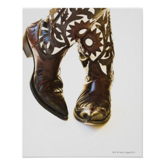 Pair of cowboy shoes 2 poster