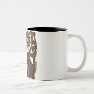 Pair of cowboy shoes 2 Two-Tone coffee mug