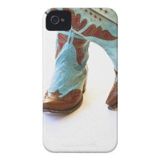 Pair of cowboy shoes 3 iPhone 4 Case-Mate case