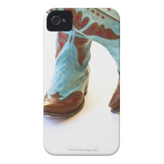 Pair of cowboy shoes 3 iPhone 4 cases