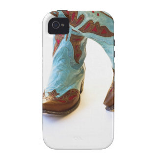 Pair of cowboy shoes 3 iPhone 4 case