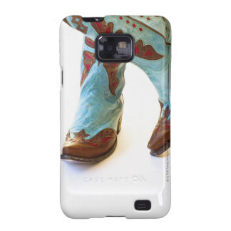 Pair of cowboy shoes 3 samsung galaxy s2 case
