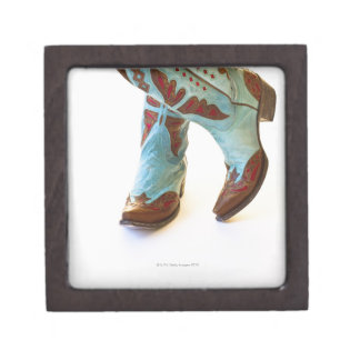 Pair of cowboy shoes 3 gift box