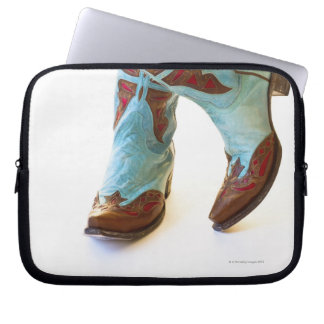 Pair of cowboy shoes 3 computer sleeve