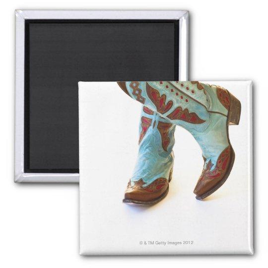 Pair of cowboy shoes 3 magnet