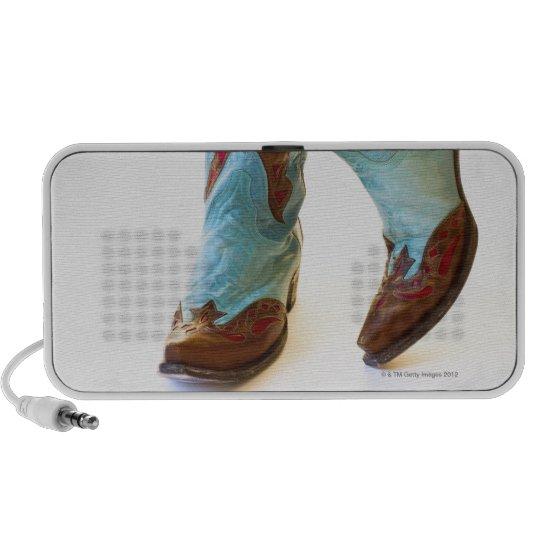 Pair of cowboy shoes 3 mini speaker