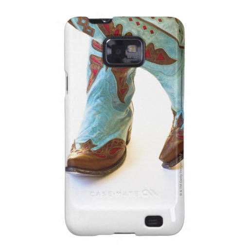 Pair of cowboy shoes 3 samsung galaxy s2 cover