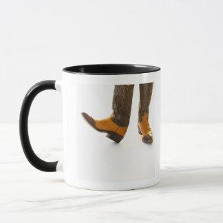 Pair of cowboy shoes mug