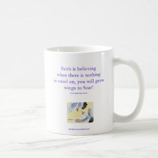 Pair of Cranes Faith Mug