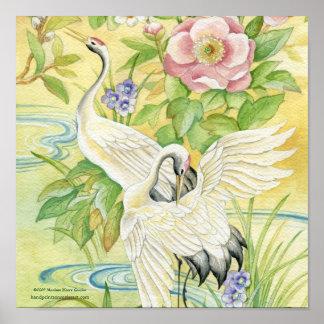 Pair of Cranes Print