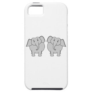 Pair of Cute Elephants. Couple. iPhone SE/5/5s Case