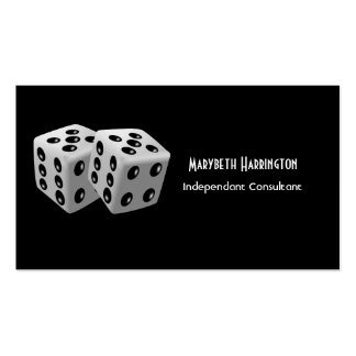 Pair of Dice Business Cards