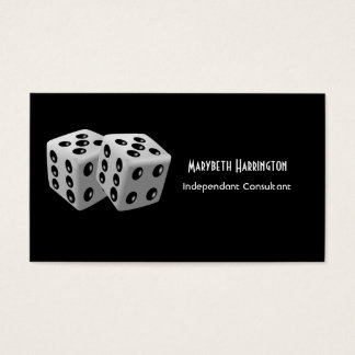 Pair of Dice Business Card