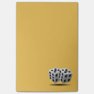 Pair of Dice Post-it Notes