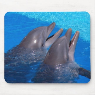 """""""Pair of dolphins"""" by mysteryella Mouse Pad"""