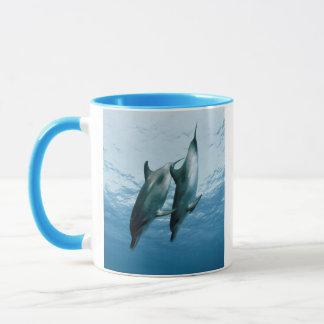 Pair of Dolphins Mug