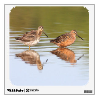 pair of Dowitchers Wall Sticker
