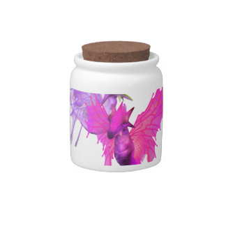 Pair of Dragons  Candy Jar