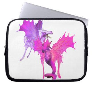 Pair of Dragons Electronics Bag Laptop Sleeve