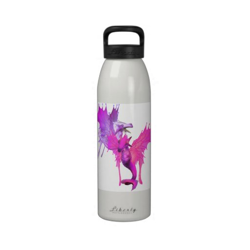 Pair of Dragons  Water Bottle