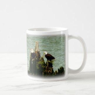 Pair of Eagles Coffee Mug
