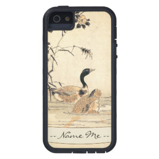 Pair of Geese with Camellias vintage japanese art Case For iPhone SE/5/5s