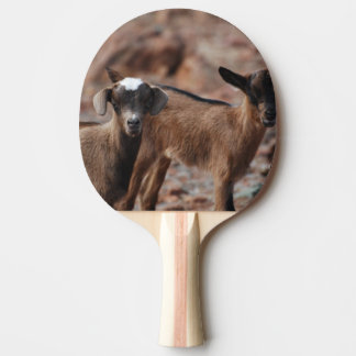 Pair of Goats Ping-Pong Paddle