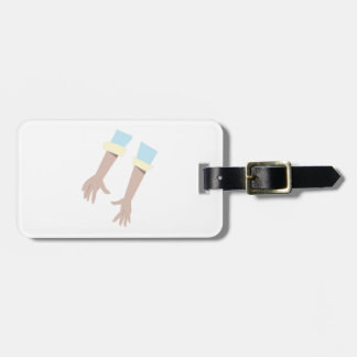 Pair Of Hands Tag For Luggage
