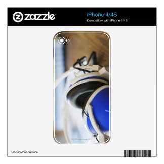 Pair of Headphones Decal For iPhone 4