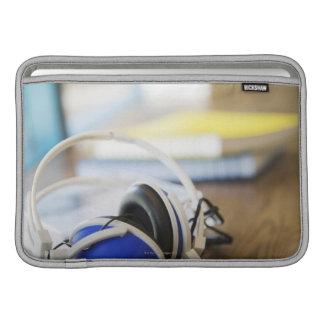 Pair of Headphones MacBook Air Sleeve
