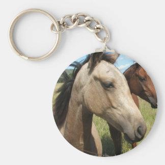 Pair of Horses Keychain