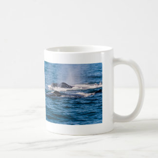 Pair of Humpback Whales Coffee Mug